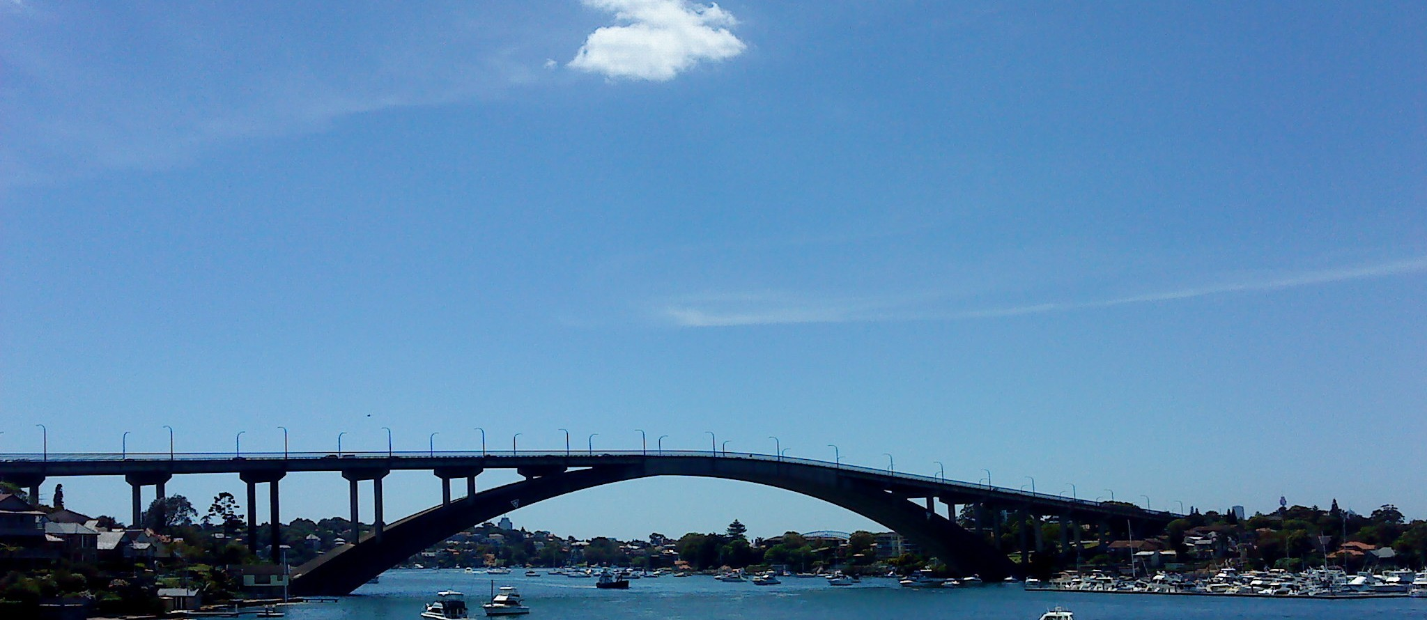 """Gladesville Bridge"" by phonetography101@flickr, used under CC BY / Cropped from original"